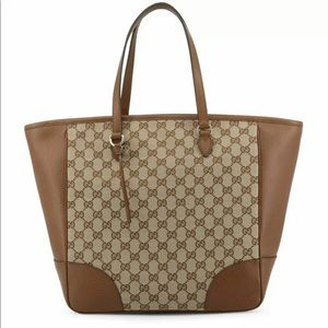Gucci Authentic Women's GG brown leather handbag